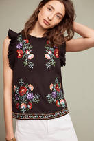 Maeve Stassi Embroidered Top