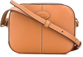 Tod's Zipped Logo Crossbody Bag