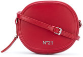No.21 round crossbody bag - women - Leather - One Size