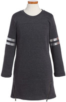 C&C California Zip Fleece Sweater Dress (Big Girls)
