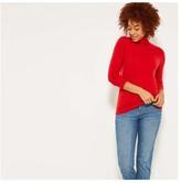 Joe Fresh Women's Cashmere Turtleneck, Taupe (Size XL)