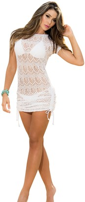 Mapalé By Am:Pm Mapale by AM:PM Women's Bikini Beach Cover Up Sexy Mini Dress