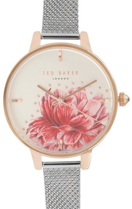Ted Baker Large Mesh Watch