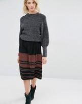 Gat Rimon Irala Embroidered Mini Skirt