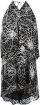 Diane von Furstenberg V neck flared dress - women - Polyester/Viscose - L