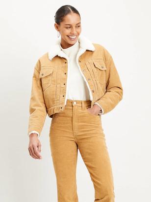 Levi's Beige New Heritage Cord Women Jacket - M   beige - Beige