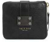 Rag and Bone Zip Around Wallet - Black