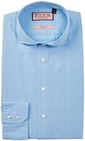 Thomas Pink Hallward Slim Fit Windowpane Dress Shirt