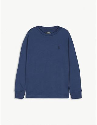 Ralph Lauren Logo-print cotton top 2-14 years