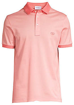 Salvatore Ferragamo Men's Three-Buttton Polo