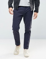 Replay Tapered Chinos Washed Navy