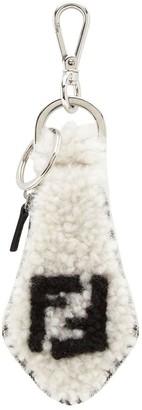 Fendi Tie-Shaped Key Ring Charm