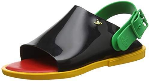 e3c1951f02d + Melissa Women's VW Twist Open Toe Sandals,8 (41/42 EU)