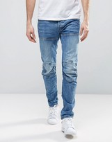 G Star G-Star Elwood 5620 3d Slim Jeans Light Medium Aged