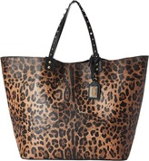 Dolce & Gabbana Beatrice Tote Bottalato Leather Handbags