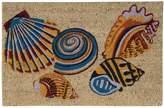 Nourison Greetings Tossed Shells Doormat