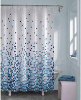 Bed Bath & Beyond Matrix Geo Shower Curtain in Blue