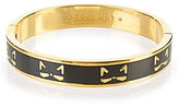 Kate Spade Cool Cat Hinged Bangle Bracelet