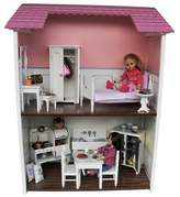 """The Queen's Treasures Fold & Store 2-Story Doll Townhouse For 18"""" Dolls"""