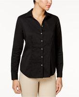 Black Button Up Shirt Long Sleeve
