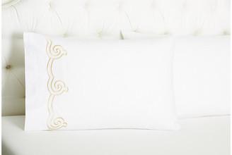 Hamburg House Set of 2 Serenity Pillowcases - Seashell Standard