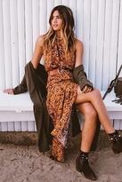 Flynn Skye Madison Maxi Dress in Brick Blossom