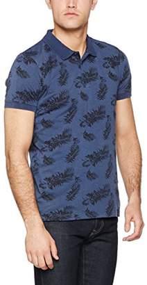 Esprit Men's 037EE2K003 Polo Short Sleeve Polo Shirt - Green - Large