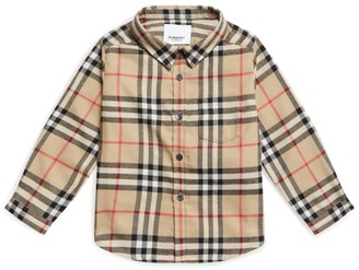 Burberry Kids Vintage Check Flannel Shirt