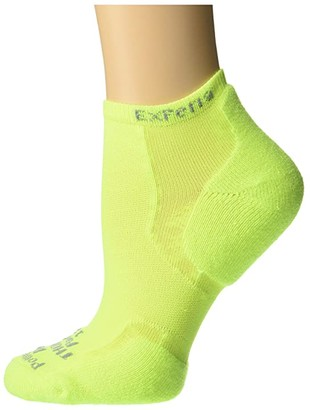 Thorlos Experia Electric Avenue Single Pair (Electric Yellow) Crew Cut Socks Shoes