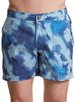 Onia Calder Cloud Stripe Boardshorts