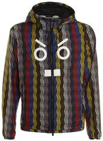 Fendi Rain Jacket Multicolor Zig Zag