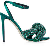 Marco De Vincenzo Knotted High Heel Sandal