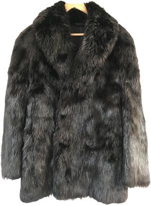Gucci Black Fur Coats