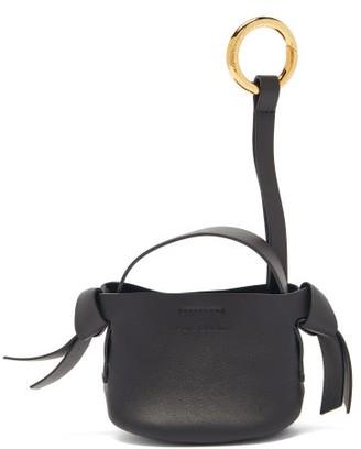 Acne Studios Musubi Leather Key Ring - Black