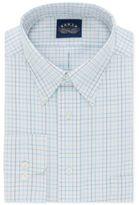 Eagle Men's Classic/Regular Big and Tall Fit Non-Iron Flex Collar Lagoon Check Dress Shirt