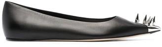 Alexander McQueen Spike Stud Ballerina Flats