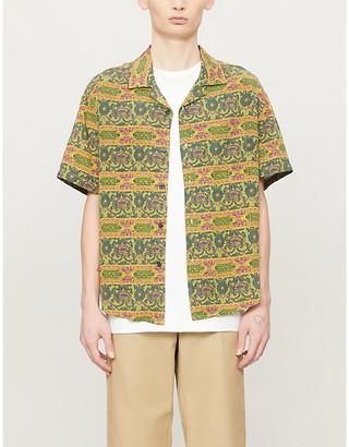 Stussy Baroque paisley-print woven shirt