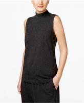 Eileen Fisher Jersey Mock-Neck Shell