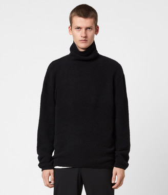 AllSaints Eamont Funnel Neck Sweater