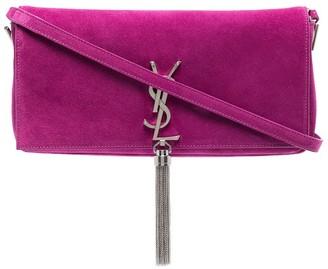 Saint Laurent Kate 99 suede shoulder bag