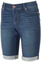 Juicy Couture Women's Flaunt It Bermuda Jean Shorts