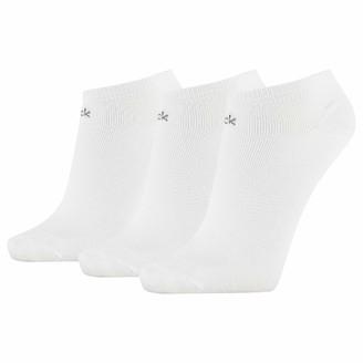Calvin Klein Women's Socks Damen Sneakersockchen 3er Pack ECR774 Wei 37/41