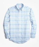 Brooks Brothers Non-Iron Madison Fit Tonal Plaid Sport Shirt