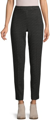 Donna Karan Printed Cropped Pants