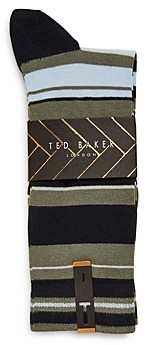 Ted Baker Mxs Barham Striped Socks