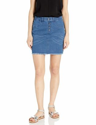 Hue Women's Denim Jean Skirt