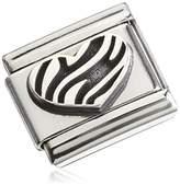 Nomination OXIDIZED SYMBOLS Composable Classic OXIDIZED SYMBOLS (Tabby White 330101/04 Stainless Steel 033010104