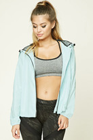 Forever 21 FOREVER 21+ Active Hooded Jacket