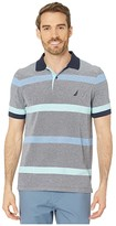 Nautica Solid Polo (Blue) Men's Clothing