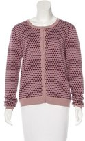 Opening Ceremony Silk-Blend Patterned Cardigan